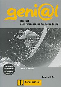Geni@l: Deutsch als Fremdsprache fur Jugendliche: Testheft A2 (+ CD)