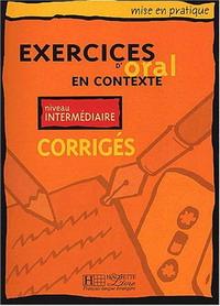 Exercices D'oral En Contexte