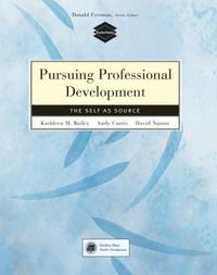 Pursuing Professional Development: Self as Source (Teachersource): Self as Source (Teachersource)