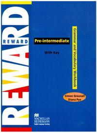 Reward Pre-intermediate: Grammar and Vocabulary Workbook with Key