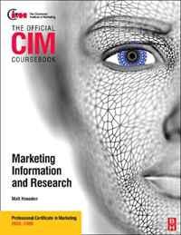 CIM Coursebook 08/09 Marketing Information and Research (Cim Coursebook)