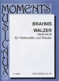 Johannes Brahms. Walzer fur Violoncello und Klavier