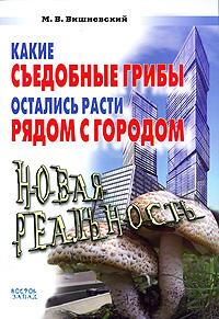 Какие съедобные грибы остались расти рядом с городом. Новая реальность. М. В. Вишневский