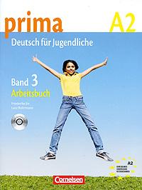 Prima A2: Deutsch fur Jugendliche: Band 3: Arbeitsbuch (+ CD)12296407Prima ist ein funfbandiges Lehrwerk fur Jugendliche ohne Deutsch-Vorkenntnisse und fuhrt in funf Banden zum Zertifikat Deutsch. Band 1 und 2 fuhren zur Niveaustufe A1, Band 3 und 4 zu A2 und der funite Band zu B1 des Cemeinsamen europaischen Referenzrahmens. Der transparente Aufbau mit uberschaubaren Lern-portionen machc das Lernen und Unterrichten mit Prima einfach. Prima zeichnec sich aus durch: eine konsequente Orientierung am Gemeinsamen europaischen Referenzrahmen; die Integration der Grammatik in sprachliches Handeln m eine in den Unterrichtsablauf integrierte systematische Schulung der Aussprache und Intonation; interkulturelles Lernen und die Vermittlung der deutsch-sprachigen Welt in ihrer Vielfalt. Ein Band enthalt Materialien fur ein Lernjahr bei zwei oder drei Unterrichtsstunden pro Woche. Das Arbeitsbuch unterstutzt die Arbeit mit dem Lehrbuch. Zu jeder Sequenz im Lehrbuch gibt es ein passendes und abwechslungsreiches...