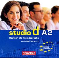 Studio d A2: Deutsch als Fremdsprache: Teilband 2 (аудиокурс на CD)