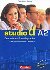 Studio d A2: Deutsch als Fremdsprache: Kurs- und Ubungsbuch: Teilband 1 (+ CD)