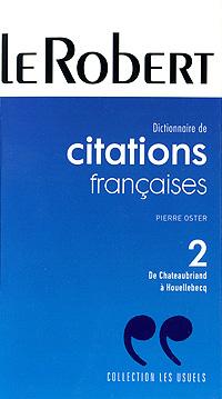 Dictionnaire de citations francaises
