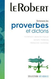 Dictionnaire des proverbes et dictons