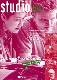 Studio 100: Cahier d'exercices: Niveau 2 (+ CD)