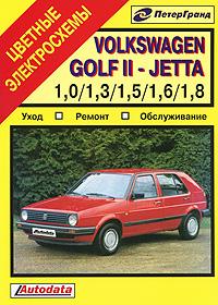 Купить Volkswagen Golf II - Jetta. Уход. Ремонт. Обслуживание, Роберт Тиллер, Грэм Корби