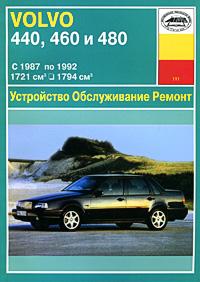 Устройство, обслуживание, ремонт и эксплуатация автомобилей Volvo 440, 460, 480