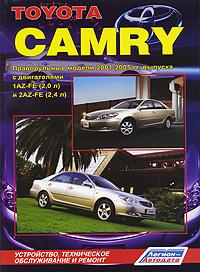 Toyota Camry. Праворульные модели 2001-2005 гг. выпуска. Устройство, техническое обслуживание и ремонт