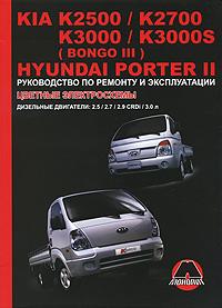Kia K2500, -K2700, -K3000, K3000S (Bongo III) / Hyundai Porter II. ����������� �� ������� � ������������