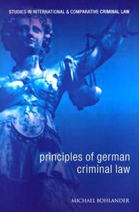 Principles of German Criminal Law ( 9781841136301 )