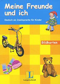 Meine Freunde und ich: Deutsch als Zweitsprache fur Kinder: Bildkarten