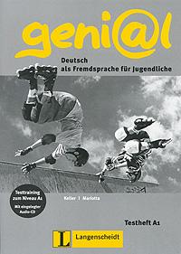 geni@l: Deutsch als Fremdsprache fur Jugendliche: Testheft A1 (+ CD-ROM)