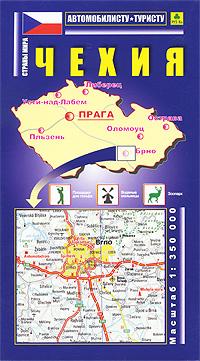 Чехия. Карта