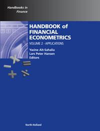 Handbook of Financial Econometrics, Vol 2,2