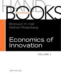 Handbook of the Economics of Innovation, Volume 1