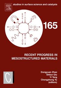 Recent Progress in Mesostructured Materials,165
