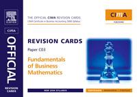 CIMA Revision Cards Fundamentals of Business Mathematics