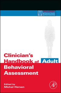 Clinician's Handbook of Adult Behavioral Assessment