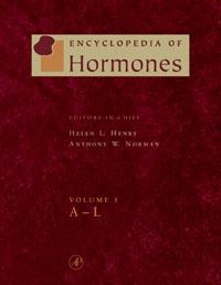 Encyclopedia of Hormones, Three-Volume Set