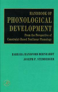 Handbook of Phonological Development