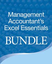 Management Accountant's Excel Essentials Bundle