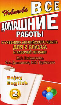 Enjoy English. 2 класс. Все домашние работы