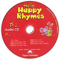 Hello Happy Rhymes (аудиокурс CD)