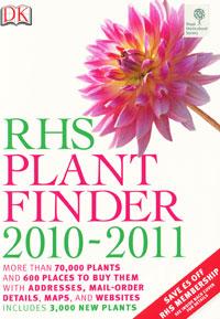 RHS PlantFinder 2010-2011