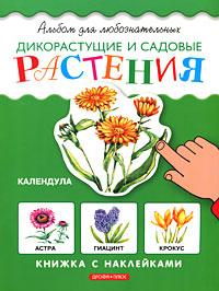 Дикорастущие и садовые растения. Книжка с наклейками12296407Это книжка с наклейками не только развлечет ребят. Из нее они узнают много нового, интересного и познавательного о дикорастущих и садовых растениях, откроют для себя увлекательный и таинственный мир природы. Когда ребята наклеят картинки, произойдет чудесное превращение - черно-белая книжка станет цветной. Такую книгу можно не только читать, но и с удовольствием рассматривать!