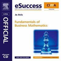 CIMA eSuccess CD Fundamentals of Business Maths