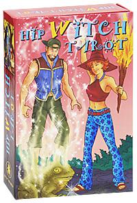 Hip Witch Tarot / Таро Модная ведьма (книга + 78 карт). Барбара Моор, Дмитрий Невский