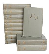 А. Чехов А. Чехов. Собрание сочинений в 12 томах (комплект из 12 книг)