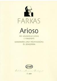 Farkas: Arioso per violoncello (viola) e pianoforte