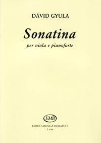 Gyula David: Sonatina per viola e pianoforte