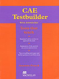 CAE Testbuilder with Answer Key