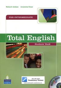 Total English: Pre-Intermediate: Students' Book (+ DVD-ROM)