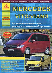 Mercedes Vito/Viano с 2003 по 2010 гг. Руководство по эксплуатации, ремонту и техническому обслуживанию ( 978-5-95450-097-4 )