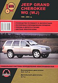 Jeep Grand Cherokee WG (WJ) 1999-2004 г.в. Руководство по ремонту и эксплуатации