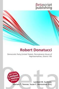 Robert Donatucci. Lambert M. Surhone