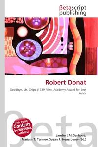 Robert Donat. Lambert M. Surhone