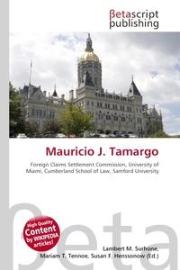 Mauricio J. Tamargo. Lambert M. Surhone