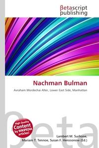 Nachman Bulman. Lambert M. Surhone