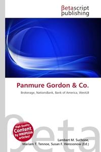 Panmure Gordon. Lambert M. Surhone