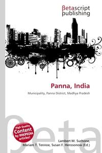Panna, India. Lambert M. Surhone