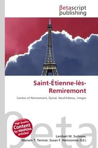 Saint-Etienne-les-Remiremont. Lambert M. Surhone