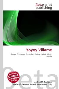 Yoyoy Villame. Lambert M. Surhone